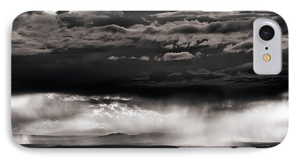 North Wyoming Rain IPhone Case by Leland D Howard