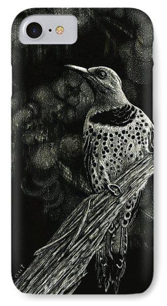 Northern Flicker IPhone Case by Sandra LaFaut