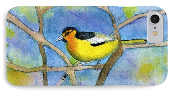 Northern Oriole IPhone Case by Ann Michelle Swadener
