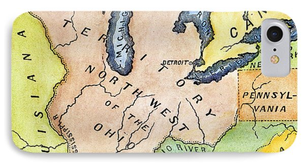 Northwest Territory, 1787 IPhone Case by Granger