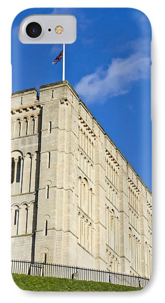 Norwich Castle Phone Case by Tom Gowanlock