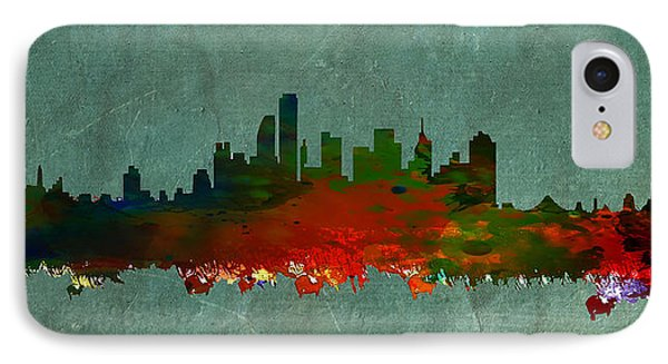 Nyc Skyline IPhone Case by Celestial Images