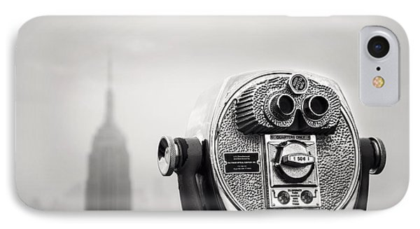 Nyc Viewpoint IPhone Case by Nina Papiorek