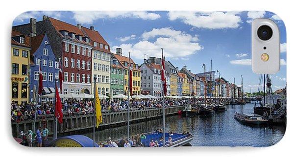 Nyhavn - Copenhagen Denmark Phone Case by Jon Berghoff