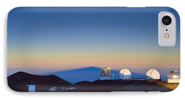 Observatories On Mauna Kea IPhone Case