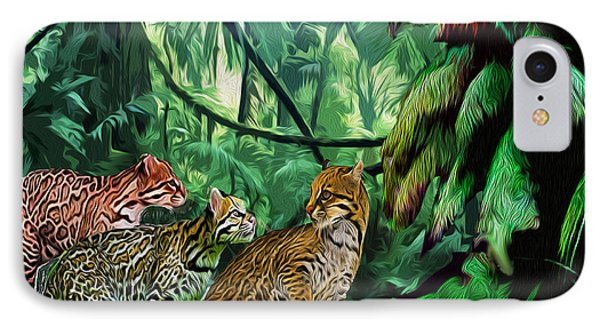 Ocelot Outing IPhone Case