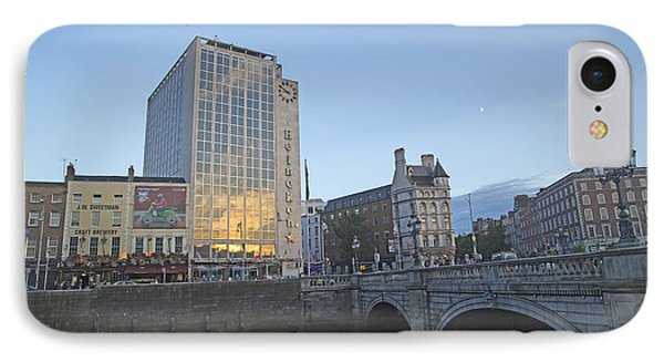 O'connell Bridge Dublin Ireland IPhone Case by Betsy Knapp