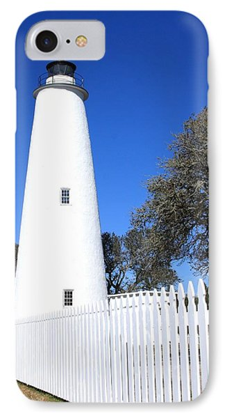 Ocracoke Lighthouse North Carolina IPhone Case by Mountains to the Sea Photo