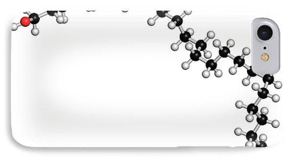 Octacosanol Plant Wax Component Molecule IPhone Case