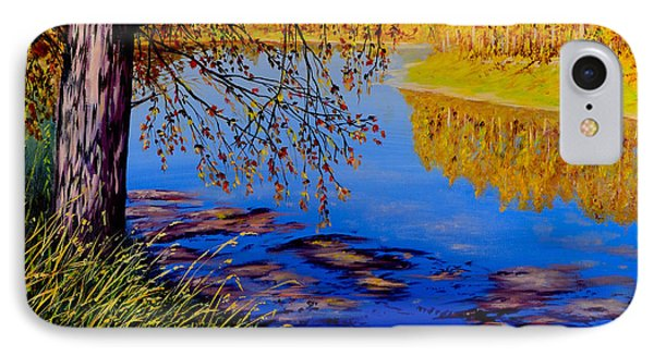 October Afternoon IPhone Case by Sher Nasser