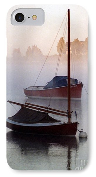 IPhone Case featuring the photograph October Mist by Michael Helfen