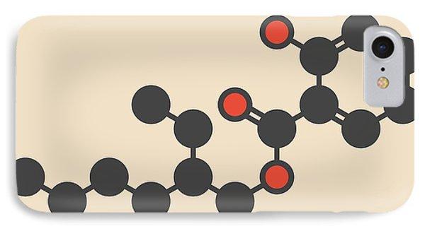 Octyl Salicylate Sunscreen Molecule IPhone Case