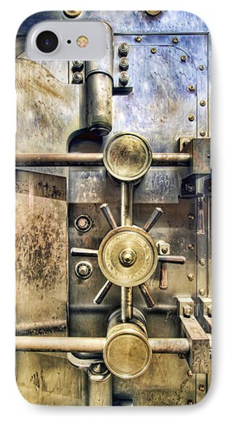 Old Bank Vault In Historic Building IPhone Case