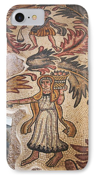 Old Baptistery Floor Mosaic In Moses IPhone Case
