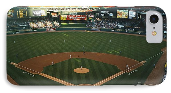 Old Busch Field IPhone Case by Kelly Awad