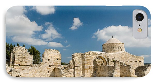IPhone Case featuring the photograph Old Church Anogyra  by Jeremy Voisey