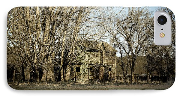 Old Farm House IPhone Case by Robert Bales