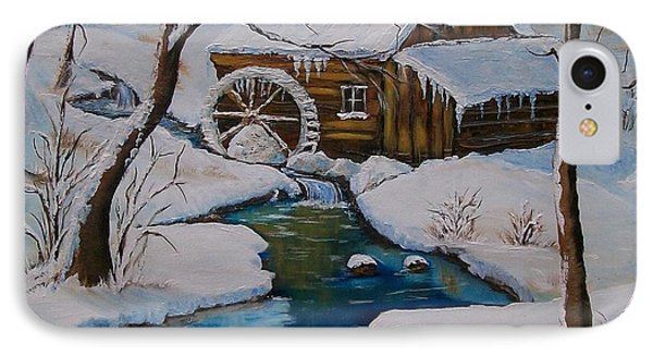 Old Grist Mill  IPhone Case by Sharon Duguay