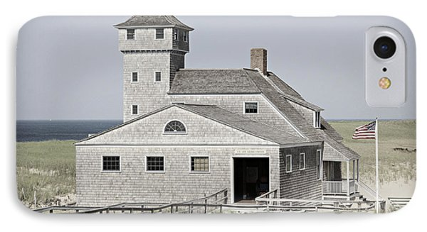 Old Harbor Lifesaving Station -- Cape Cod IPhone Case