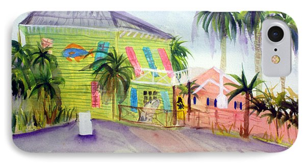Old Key Lime House IPhone Case by Donna Walsh