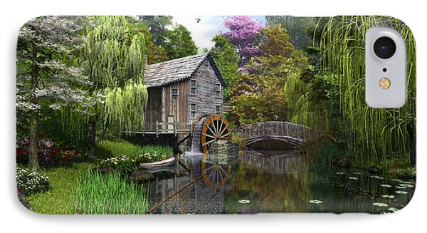 Old Mill IPhone Case by Dominic Davison
