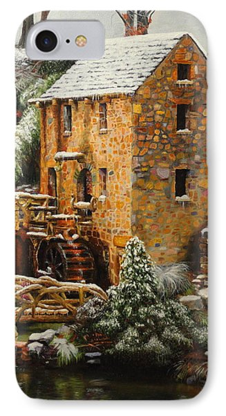 Old Mill In Winter IPhone Case