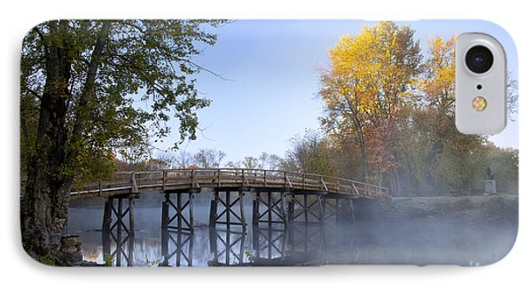 Old North Bridge Concord Phone Case by Brian Jannsen