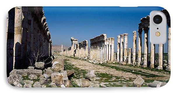 Old Ruins On A Landscape, Cardo IPhone Case by Panoramic Images