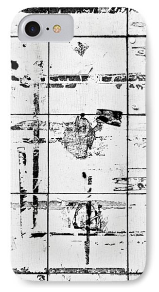 Old Tiles IPhone Case by Tom Gowanlock