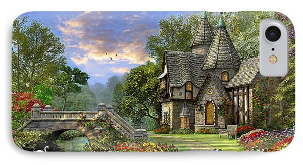 Old Waterway Cottage IPhone Case
