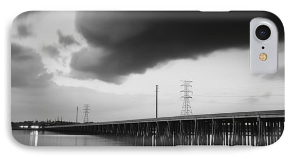 Ominous Cloud Phone Case by Phill Doherty