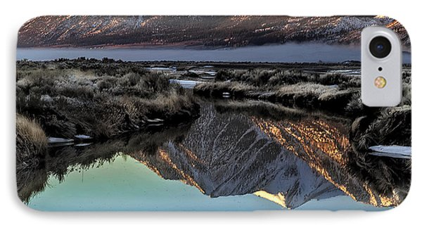 IPhone Case featuring the photograph On A Winter's Day by Nancy Marie Ricketts
