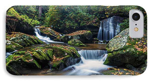 On The Way To Catawba Falls IPhone Case by Andres Leon