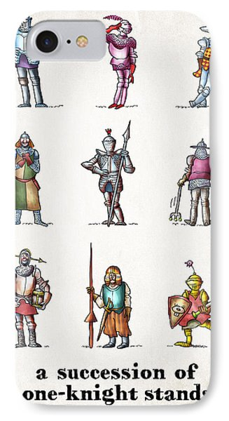 One Knight Stands Phone Case by Mark Armstrong