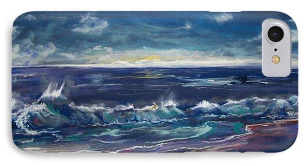 Open Sea IPhone Case by Peter Suhocke