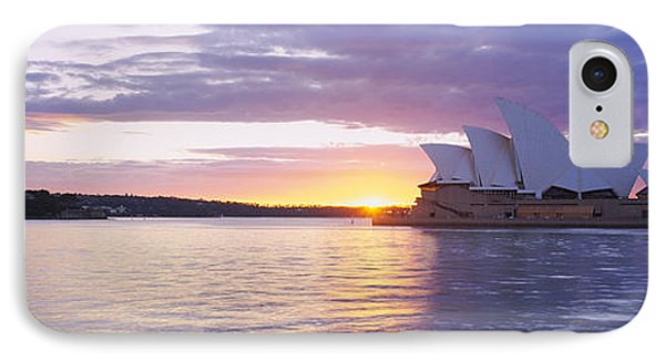 Opera House At The Waterfront, Sydney IPhone Case by Panoramic Images