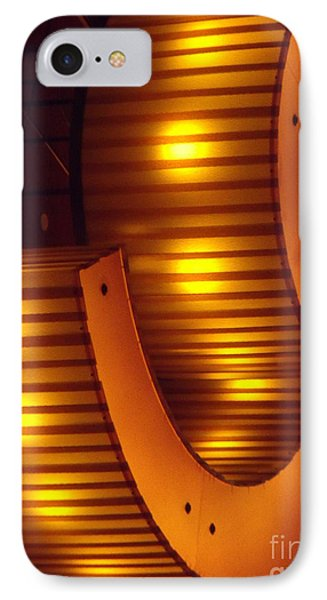 IPhone Case featuring the photograph Orange Swirl 9 by Lyric Lucas