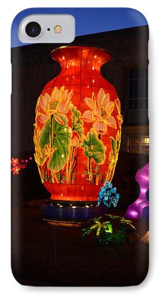 Orange Vase IPhone Case