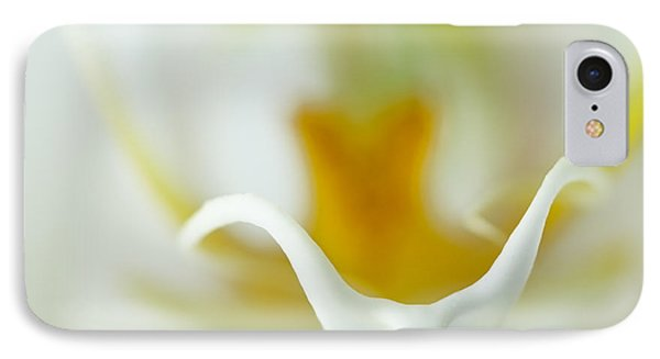 Moth Orchid Macro IPhone Case