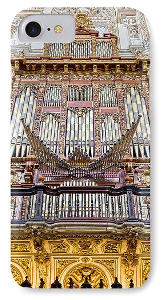 Organ In Cordoba Cathedral Phone Case by Artur Bogacki