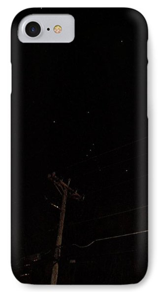 IPhone Case featuring the photograph Orion And Telephone Pole by Steven Richman