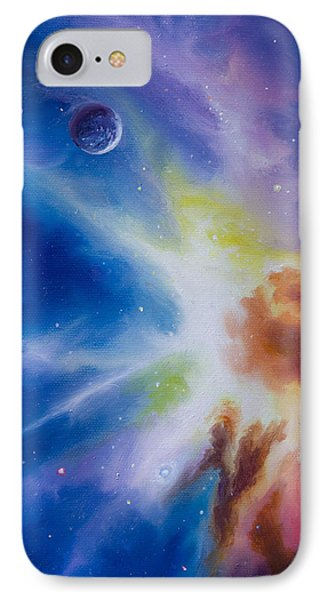 Origin Nebula IPhone Case by James Christopher Hill
