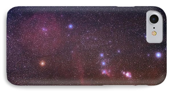 Orion Nebulae From The Canary Islands IPhone Case