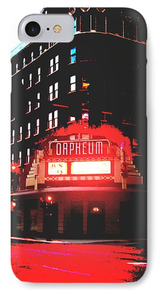 Orpheum Theater  IPhone Case by Dana Patterson