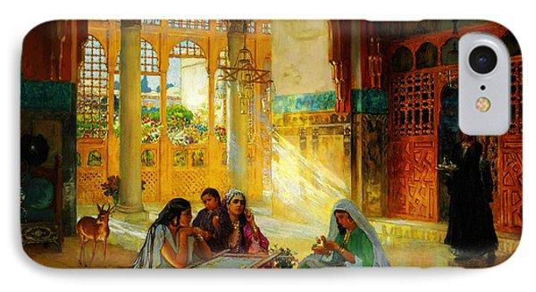 Ottoman Daily Life Scene IPhone Case