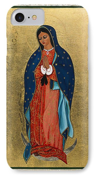 Our Lady Of Guadalupe I IPhone Case by Ilse Wefers