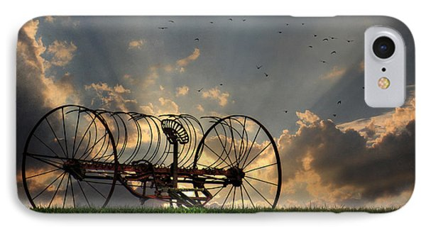 Out To Pasture Phone Case by Lori Deiter