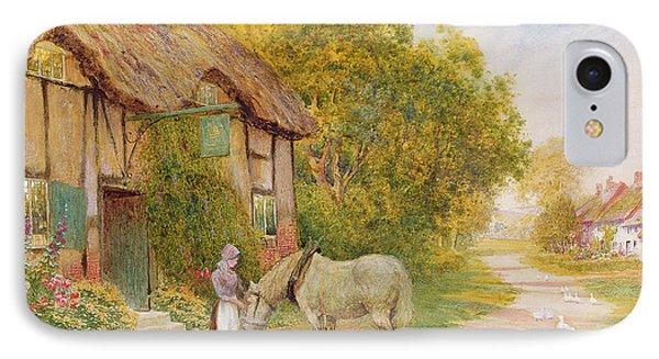 Outside The Village Inn Phone Case by Arthur Claude Strachan