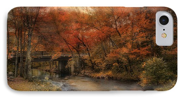 IPhone Case featuring the photograph Over The River by Robin-Lee Vieira