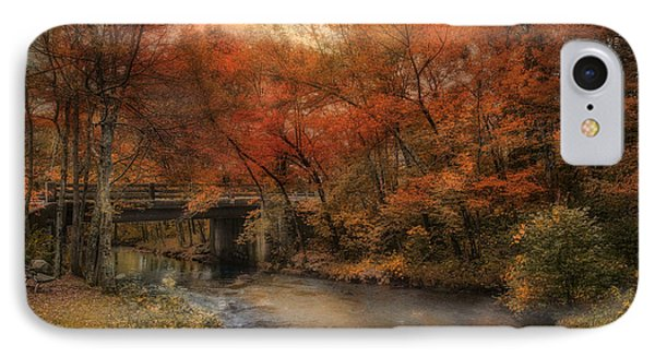 Over The River IPhone Case by Robin-Lee Vieira